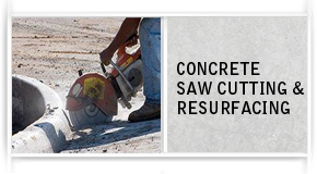 Concrete Saw Cutting/Resurfacing